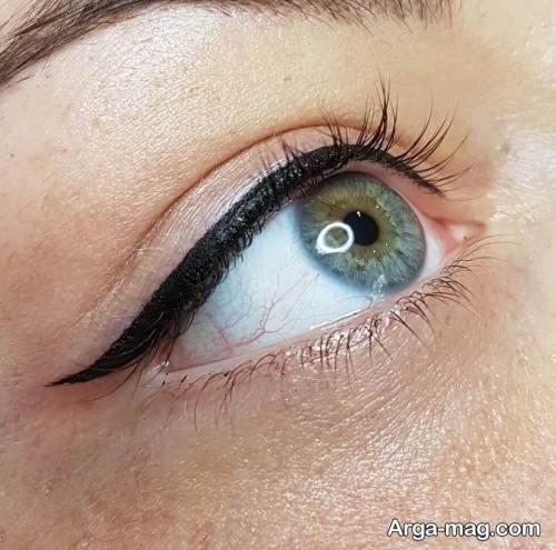خط چشم دنباله کوتاه