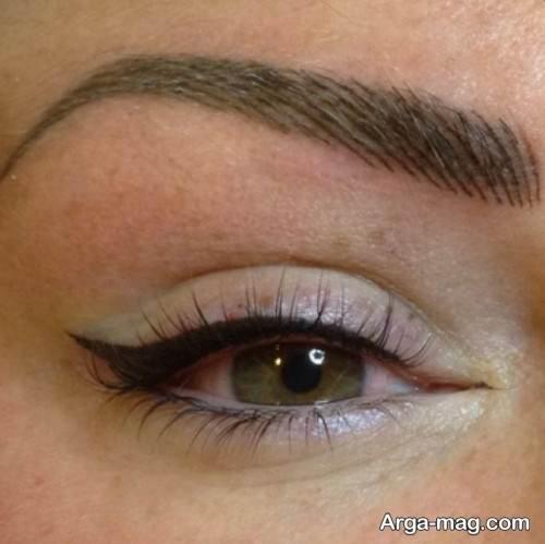 تاتو خط چشم زنانه