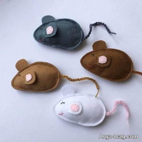 عروسک موش ساده