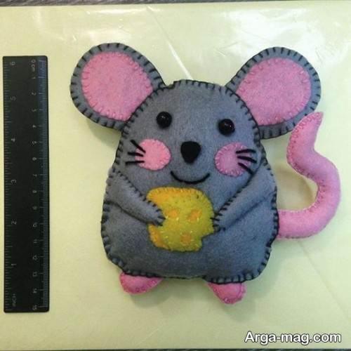 عروسک دو رنگ موش
