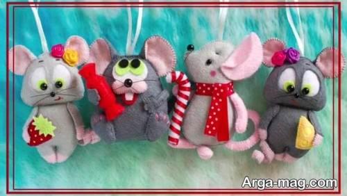 مدل موش بامزه