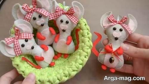 عروسک موش نمدی برای هفت سین