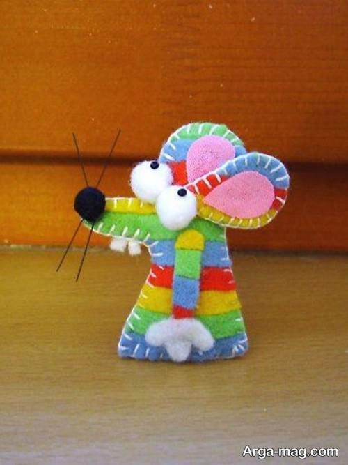 عروسک موش رنگی