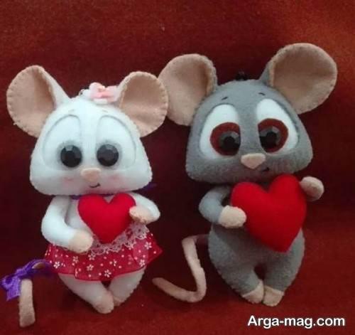 عروسک موش خاص و جالب