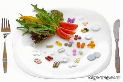 برنامه غذایی مناسب باروری
