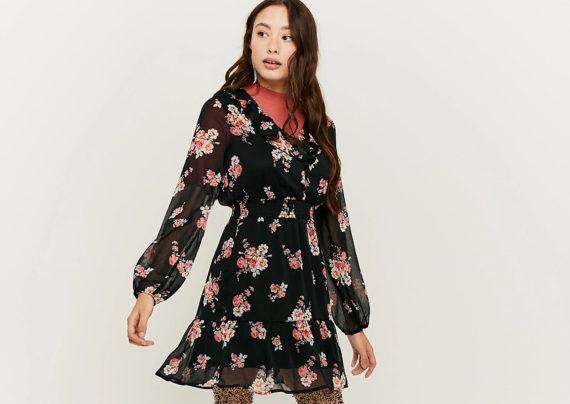 مدل لباس مجلسی گلدار