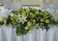 گل آرایی میز