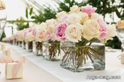 روش هایی برای گل آرایی میز