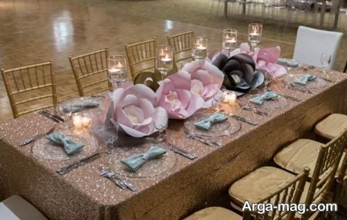 تزیین جالب میز