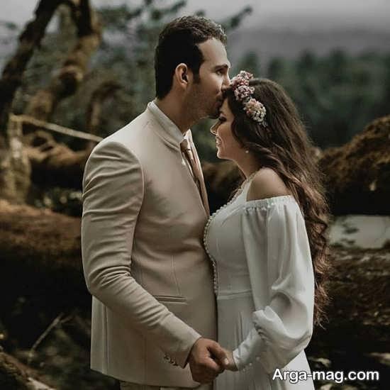 ژست جذاب و متفاوت با همسر