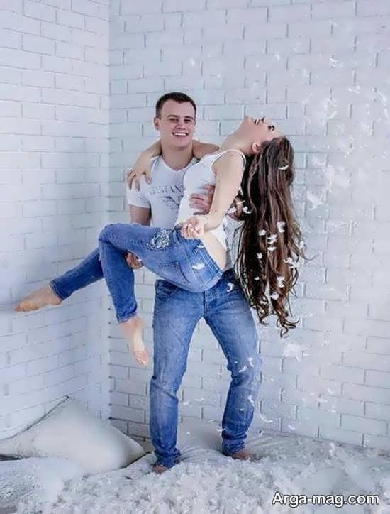 انواع جدید ژست عکس با همسر