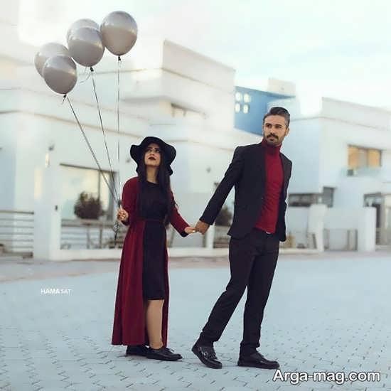 حالب و فیگور رمانتیک با همسر