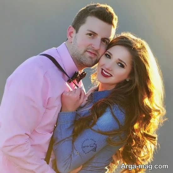 انواع متنوع و زیبا ژست عکس با همسر