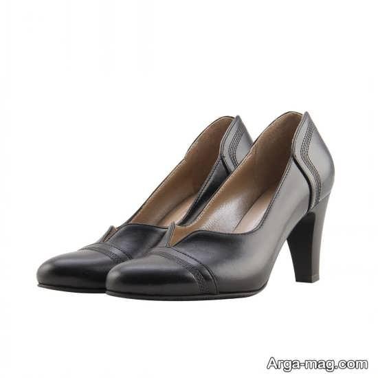 نمونه کفش رسمی پاشنه بلند
