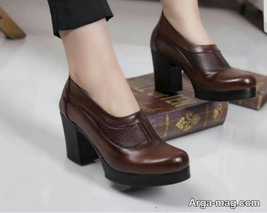 انواع نمونه کفش شیک دخترانه