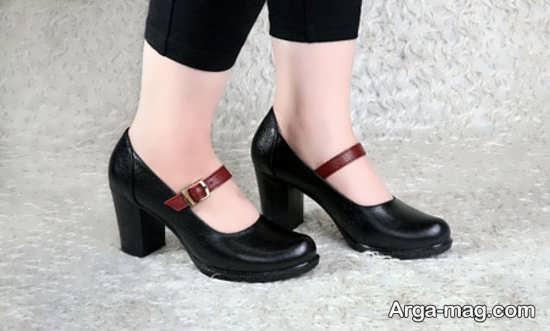 نمونه کفش پاشنه دار رسمی