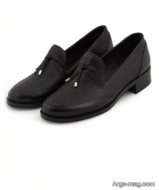 نمونه کفش کالج رسمی دخترانه