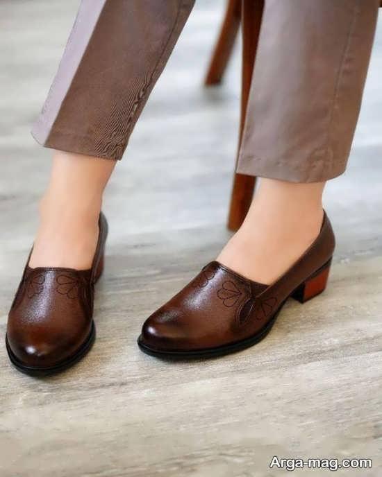 مدل کفش چرم رسمی
