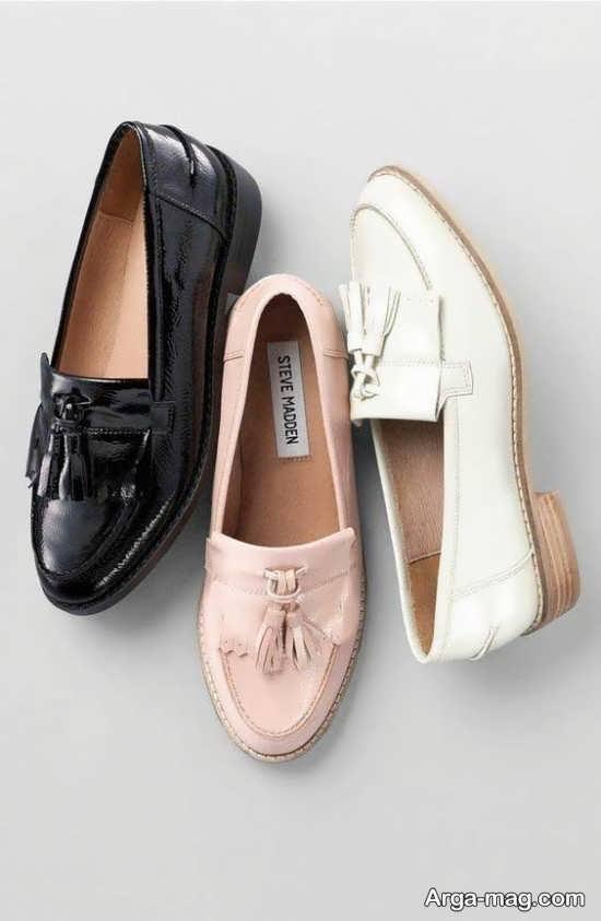انواع متفاوت مدل کفش رسمی دخترانه