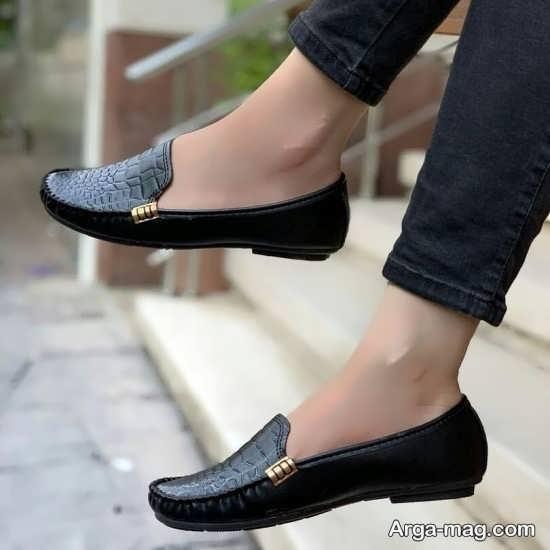 مدل کفش کالج مشکی رسمی دخترانه
