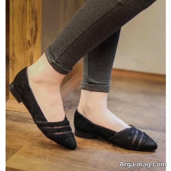 نمونه کفش بهاره مشکی