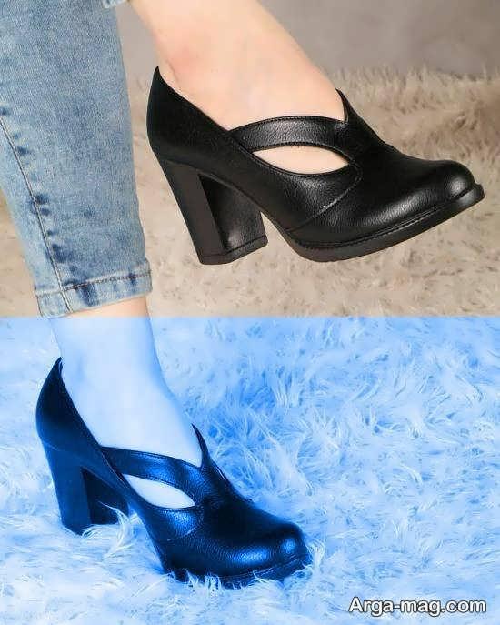 انواع جدید کفش مشکی بهاره