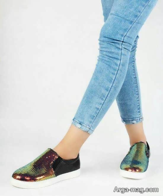 نمونه کفش هولوگرامی زیبا و جذاب