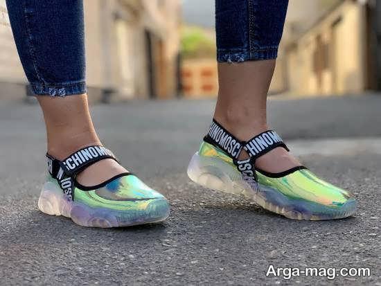 مدل کفش اسپرت جلو باز بهاره