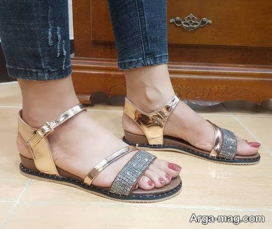 مدل کفش صندل زیبا و شیک