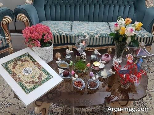 هفت سین زیبا روی میز