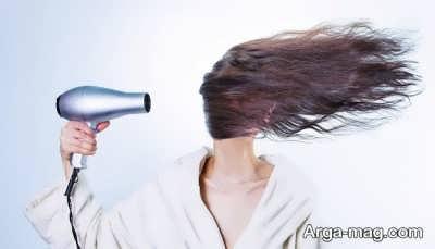 خشک کردن مو ها با تکنیک های صحیح