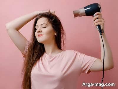 برای گرفتن آب مو ها می توانید از کرم های ضد حرارت استفاده کنید.