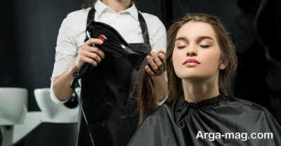 استفاده از نرم کننده برای حالت دهی به مو ها