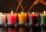 ساخت شمع سرد معطر