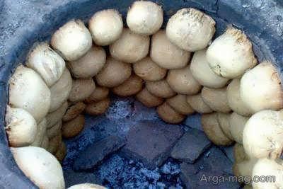 طرز پخت نان کوهی یا همان ییلاقی خوشمزه و دوست داشتنی