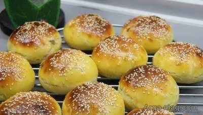 شیوه ی تهیه نان کوهی توپی شکل و خوشمزه