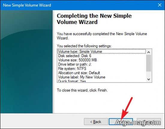 مدیریت اطلاعات با پارتیشن بندی ویندوز