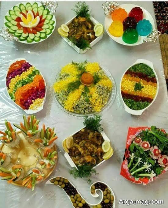 دیزاین شیک غذا به سبک ایرانی