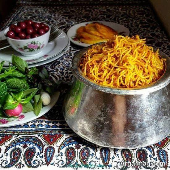 دیزاین غذا به سبک ایرانی