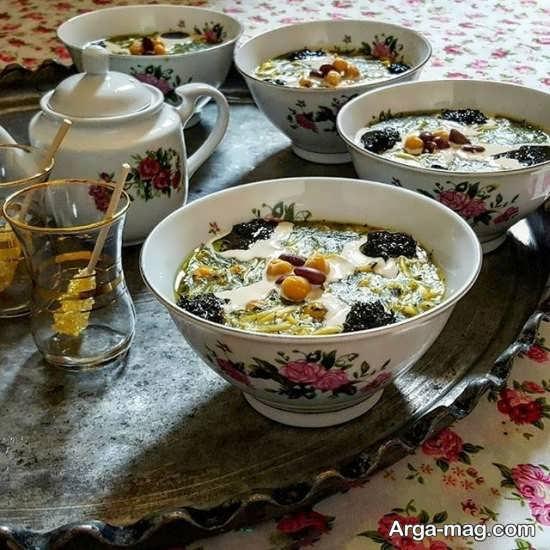 تزیین غذا به سبک ایرانی+عکس