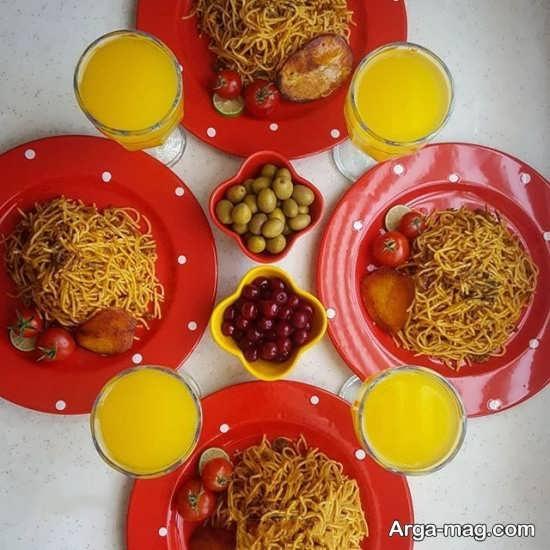 جدیدترین تزیینات غذا به سبک ایرانی