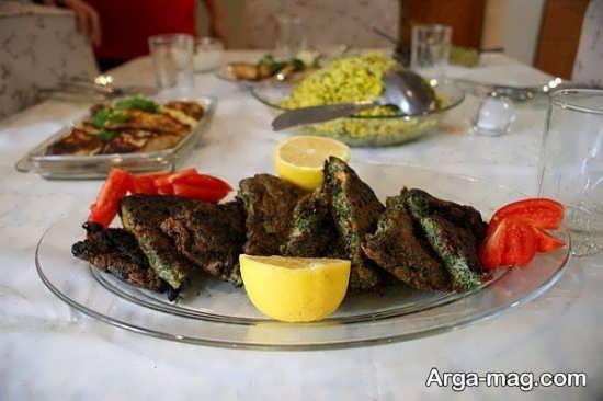 عکس تزیین غذا به سبک ایرانی