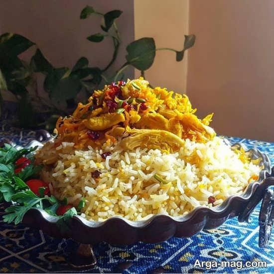تزیینات غذا به سبک ایرانی