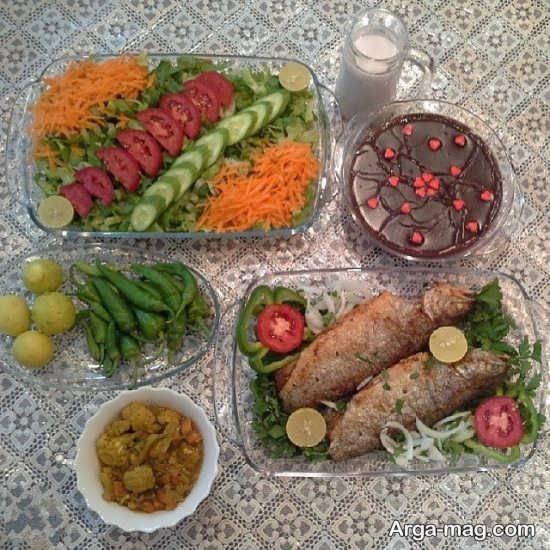 سفره آرایی به سبک ایرانی و سنتی