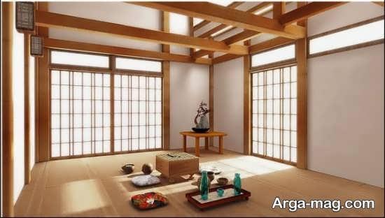 دیزاین زیبای خانه به سبک ژاپنی
