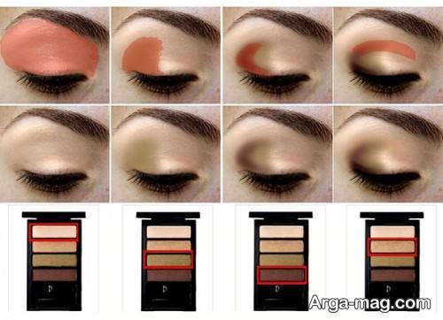 مدل سایه چشم لایت