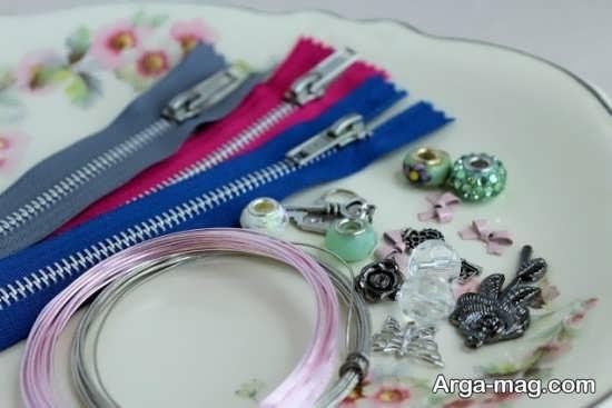 ایده ساخت دستبند زیپی