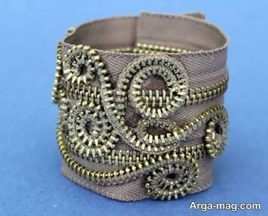 مدل دستبند پهن زیبا و شیک