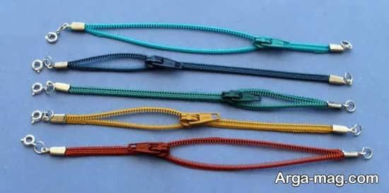 ساخت دستبند هایی با زیپ