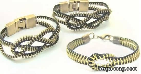 ساخت دستبند زیپی